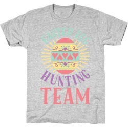 Easter Egg Hunting Team T-Shirt from LookHUMAN found on Bargain Bro Philippines from LookHUMAN for $21.99