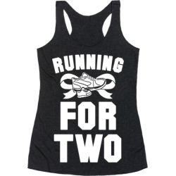 Running for Two Racerback Tank from LookHUMAN