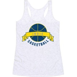 Indianapolis Basketball Racerback Tank from LookHUMAN