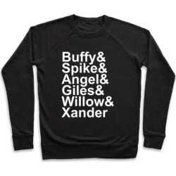 Buffy Names Pullover from LookHUMAN