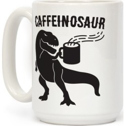 Caffeinosaur Mug from LookHUMAN