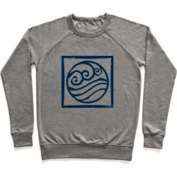 Water Bender Pullover from LookHUMAN