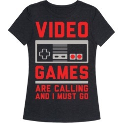 Video Games Are Calling T-Shirt from LookHUMAN found on GamingScroll.com from LookHUMAN for $25.99