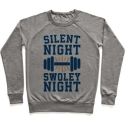 Silent Night Swoley Night Pullover from LookHUMAN