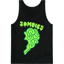 Best Zombies Green (Part 2) Tank Top from LookHUMAN