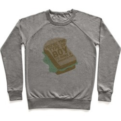 Sandwiches Pullover from LookHUMAN