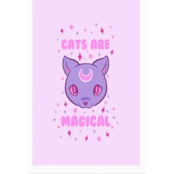 Cats Are Magical Poster from LookHUMAN