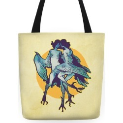 Harpy Monster Girls Tote Bag from LookHUMAN