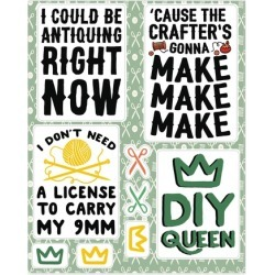 Crafting Stickers from LookHUMAN