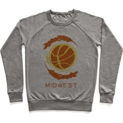 Midwest Basketball Pullover from LookHUMAN