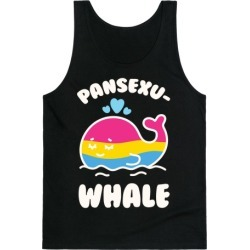 Pansexu-WHALE Tank Top from LookHUMAN