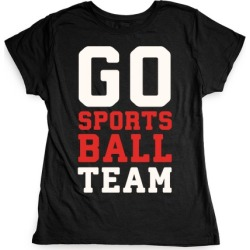 Go Sports Ball T-Shirt from LookHUMAN