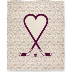 Hockey Love Blanket from LookHUMAN