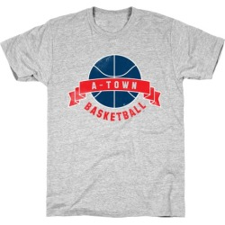 ATL Basketball T-Shirt from LookHUMAN