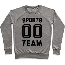 Sports 00 Team Pullover from LookHUMAN