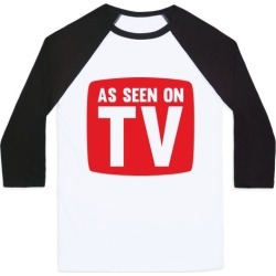 As Seen On TV Baseball Tee from LookHUMAN