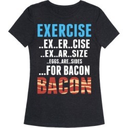 Eggs are Sides...For Bacon! T-Shirt from LookHUMAN found on MODAPINS from LookHUMAN for USD $25.99