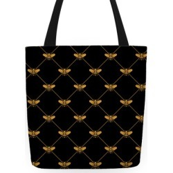 Regal Golden Honeybee Pattern Tote Bag from LookHUMAN found on Bargain Bro India from LookHUMAN for $27.99