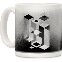 Geometry Optical Illusion Mug from LookHUMAN found on Bargain Bro Philippines from LookHUMAN for $14.99