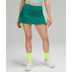 lululemon Women's Play Off The Pleats Skirt, Teal Lagoon Size 14
