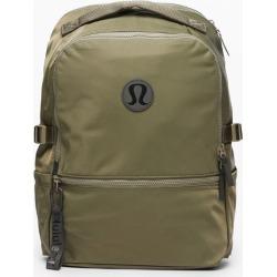 lululemon Men's New Crew Backpack, Medium Olive Size One Size