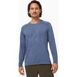 lululemon Men's Metal Vent Tech Long-Sleeve Shirt 2.0, Midnight Shadow/Tempest Blue Size Xs found on Bargain Bro UK from Lululemon UK