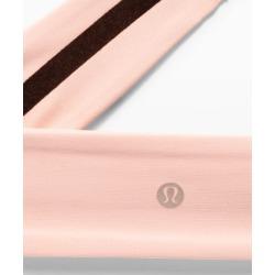 lululemon Women's Fly Away Tamer Headband II Luxtreme, Pink Mist Size One Size