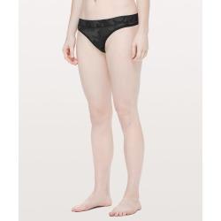 Lululemon Women's Mula Bandhawear Thong, Incognito Camo Multi Grey, Size S found on Bargain Bro UK from Lululemon UK