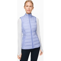lululemon Women's Down For It All Vest, Lavender Dusk Size 8 found on Bargain Bro UK from Lululemon UK