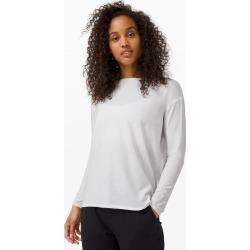 lululemon Women's La Back In Action Long Sleeve, White Size 6 found on Bargain Bro UK from Lululemon UK