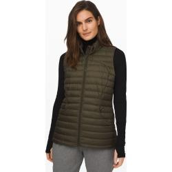 lululemon Women's Pack It Down Vest, Dark Olive Size 4 found on Bargain Bro UK from Lululemon UK