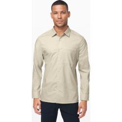 Lululemon Men's Masons Peak Long Sleeve Shirt, Heathered Muslin, Size S found on Bargain Bro UK from Lululemon UK