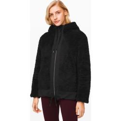 lululemon Women's Warm Restore Sherpa Full Zip, Black/Black Size XL found on Bargain Bro UK from Lululemon UK