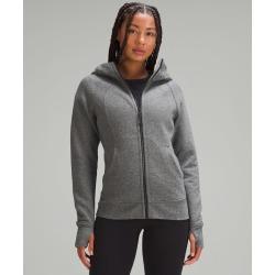 lululemon Women's Scuba Hoodie Light Cotton Fleece, Heathered Speckled Black Size 20 found on Bargain Bro UK from Lululemon UK