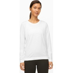 lululemon Women's Swiftly Relaxed Long-Sleeve Shirt, White/White Size 6 found on Bargain Bro UK from Lululemon UK