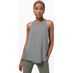 lululemon Women's All Tied Up Tank Top, Tonka Stripe Black White Size 2 found on Bargain Bro UK from Lululemon UK