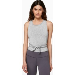 Lululemon Women's Turn To Tie Tank, Heathered Core Light Grey, Size 10 found on Bargain Bro UK from Lululemon UK