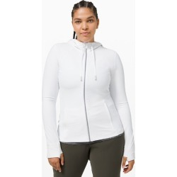 Lululemon Women's Hooded Define Jacket Nulu, White, Size 4 found on Bargain Bro UK from Lululemon UK