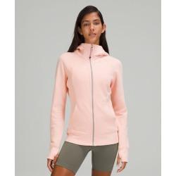 lululemon Women's Scuba Hoodie Iv, Pink Mist Size 12