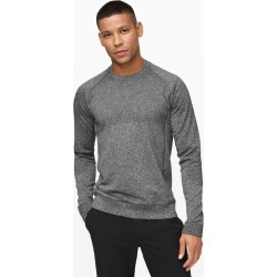 lululemon Men's Engineered Warmth Long Sleeve, Black/White Size M found on Bargain Bro UK from Lululemon UK