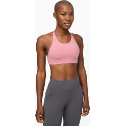 lululemon Women's Free To Be Sports Bra Wild High Neck, Pink Taupe Size 12 found on Bargain Bro from Lululemon UK for £48