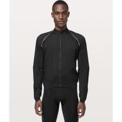 lululemon Men's City To Summit Cycling Jacket, Black Size M found on Bargain Bro from Lululemon UK for £149