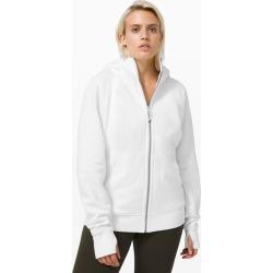 lululemon Women's Scuba Hoodie Light Cotton Fleece, White Size 20 found on Bargain Bro UK from Lululemon UK