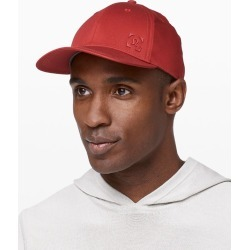 Lululemon Men's On The Fly Ball Cap II, Cayenne Size One Size