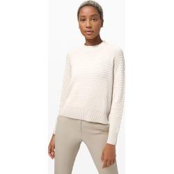 lululemon Women's Texture Play Crew Sweater, Light Ivory Size Xs/S found on Bargain Bro UK from Lululemon UK