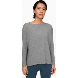 lululemon Women's Back In Action Long Sleeve, Heathered Core Medium Grey Size 0 found on Bargain Bro UK from Lululemon UK