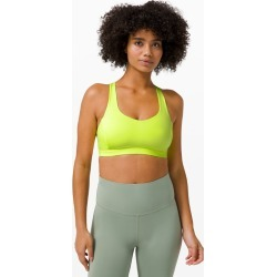 lululemon Women's Free To Be Serene Sports BraLight Support, C/D Cup, Highlight Yellow Size 8 found on Bargain Bro UK from Lululemon UK