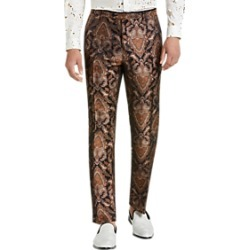 Paisley & Gray Slim Fit Suit Separates Formal Pants Gold & Bronze Paisley found on MODAPINS from menswearhouse.com for USD $99.99