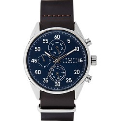 Joseph Abboud Navy & Brown Watch found on MODAPINS from menswearhouse.com for USD $125.00