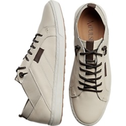Impulse Beige Leather Sneakers found on MODAPINS from menswearhouse.com for USD $79.99